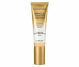 Max Factor Miracle Second Skin – podkład bez efektu maski